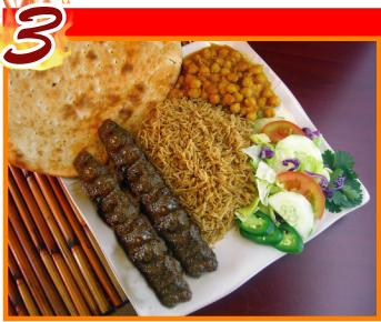 3. Shami / Beef Chunks Kabob