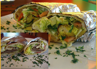 Lunch Special 3 - Kabob Wrap - ONLY Monday - Friday
